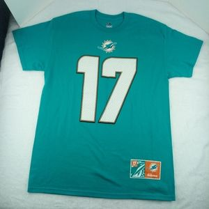 Majestic Miami Dolphins. Tannnehill #17 Shirt. Med